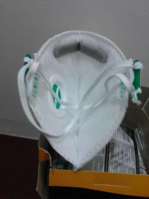 ماسک SPC N95 - FFP2 فیلتر دار قایقی (پکیج 12 عددی)