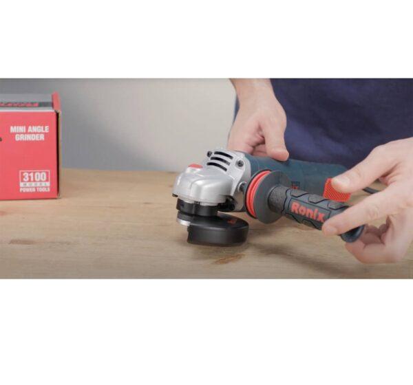 مینی فرز دیمردار 1100 وات رونیکس مدل 3100