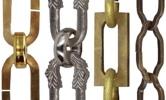 زنجیر لوستری گالوانیزه