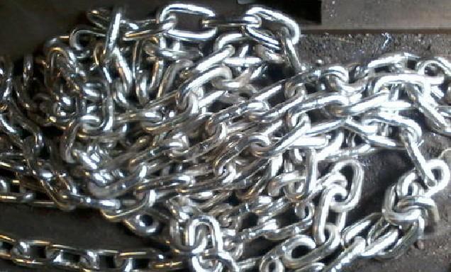 جنس زنجیرهای استیل (صنعتی)