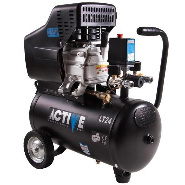 کمپرسور باد 24 لیتری (2/5 اسب بخاری) اکتیو AC-1024