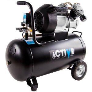 کمپرسور باد 80 لیتری دو سیلندر (3 اسب بخار) اکتیو AC-1280
