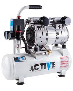 کمپرسور باد دو سیلندر بی صدا 1 اسب بخار (10 لیتری) اکتیو AC-1310S