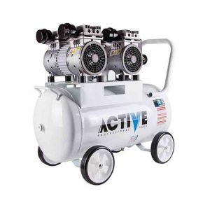 کمپرسور باد چهار سیلندر بی صدا 2 اسب بخار (50 لیتری) اکتیو AC-1350S