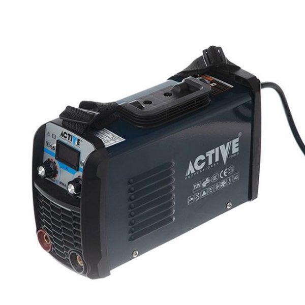 دستگاه جوش (اینورتر) دو ولوم 180 آمپر به همراه لوازم اکتیو AC-42180