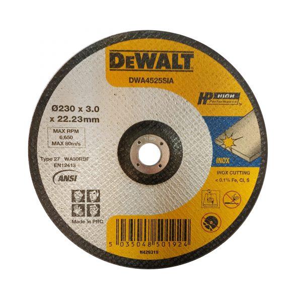 صفحه برش استیل دیوالت مدل DWA4525SIA