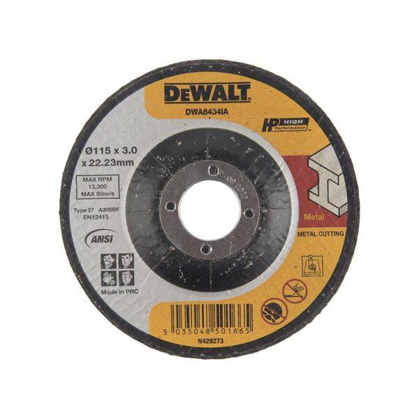 صفحه برش فلز دیوالت مدل DWA8434IA