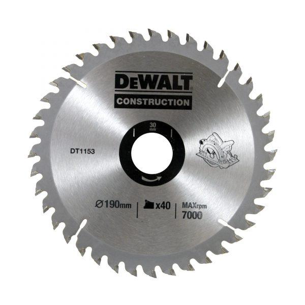 تیغ اره دیسکی دیوالت مدل DT1153