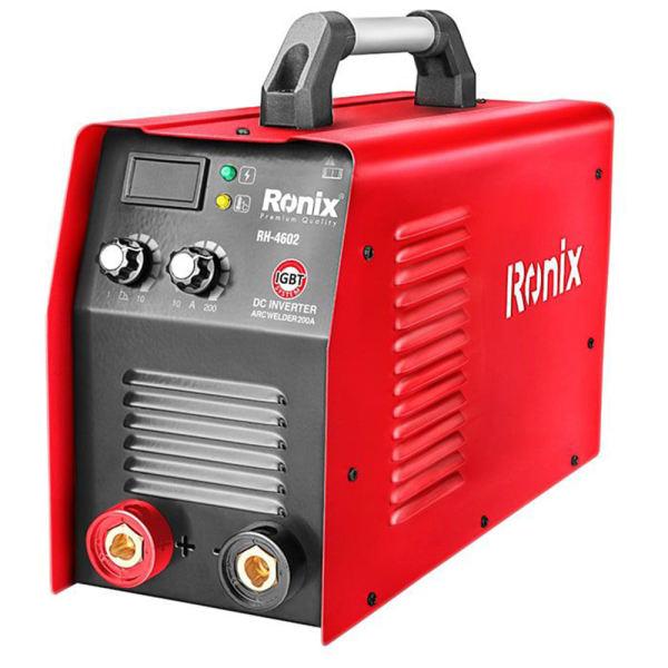 اینورتر جوشکاری 200 آمپر تک برد رونیکس مدل RH-4602