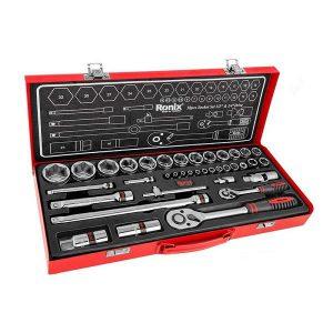 جعبه بکس 38 پارچه 1/2 و 1/4 اینچ رونیکس مدل RH-2638