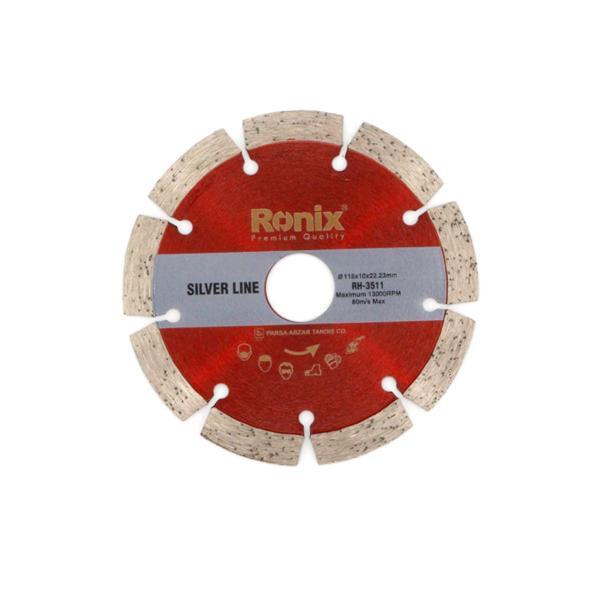 تیغ گرانیت بر 11.5 سانتی متر SilverLine رونیکس مدل RH-3511