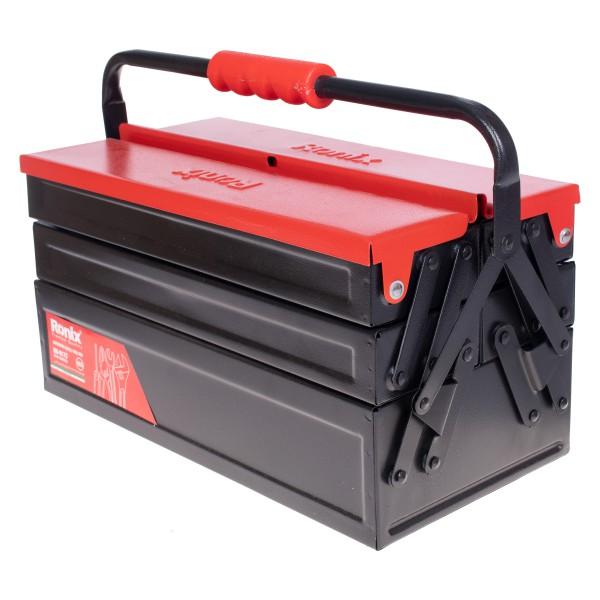 جعبه ابزار فلزی اتوماتیک 40 سانت 3 طبقه رونیکس مدل RH-9173