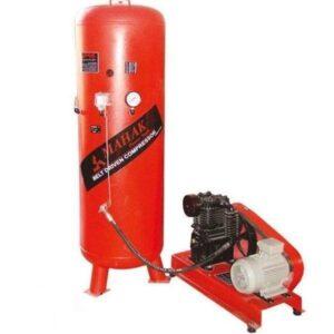 کمپرسور 1200 لیتری 380 ولت ایستاده با مخزن 500 لیتری محک مدل AP-1200S