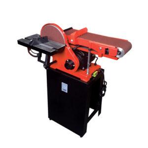 ماشین سنباده نواری عرض 150 میلیمتر و دیسک 230 میلیمتر 550 وات پایه دار محک مدل BDS-230