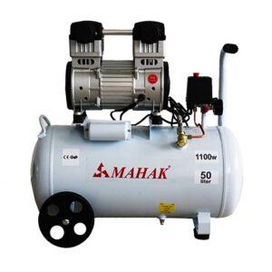 کمپرسور بدون روغن بدون صدا 8 بار 50 لیتری 1100 وات محک مدل HSU1100-50L