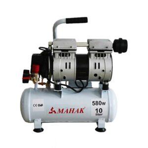 کمپرسور بدون روغن بدون صدا 8 بار 10 لیتری 580 وات محک مدل HSU550-10L
