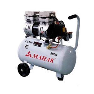 کمپرسور بدون روغن بدون صدا 8 بار 25 لیتری 580 وات محک مدل HSU550-25L