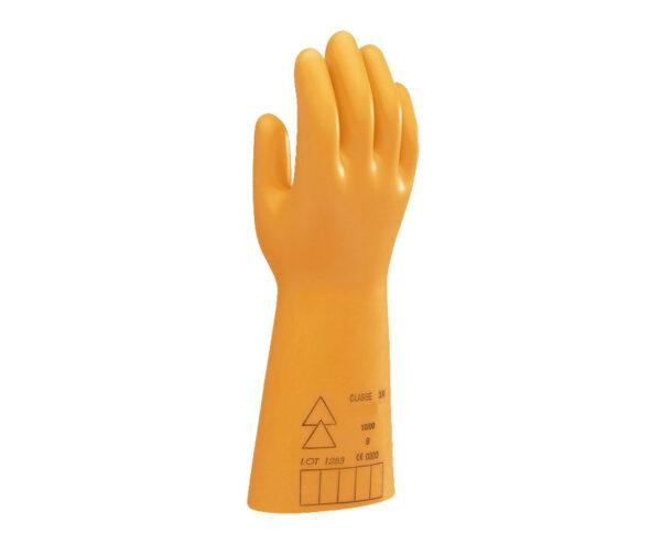 دستکش عایق برق SECURA کلاس ۰ -۵۰۰۰ ولت زرد