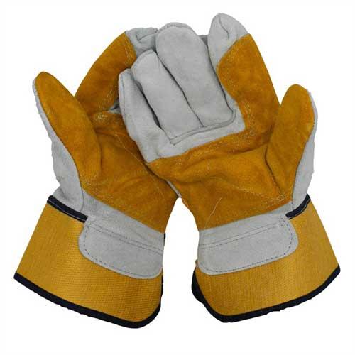 دستکش کف دوبل promax (زرد)