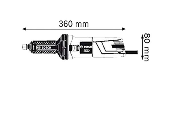 فرز انگشتی گلو بلند بوش مدل GGS 5000L