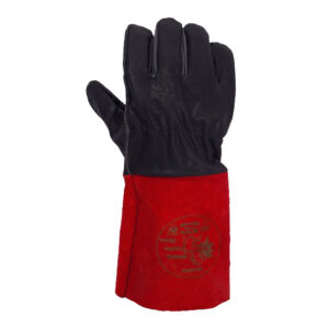 دستکش جوشکاری آرگون I.T.CO (مشکی قرمز)