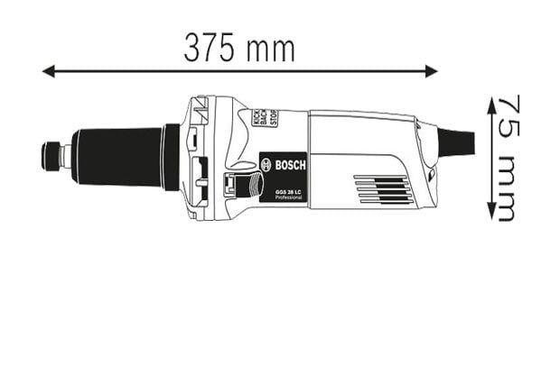 فرز انگشتی گلو بلند ساده بوش مدل GGS 28 LC