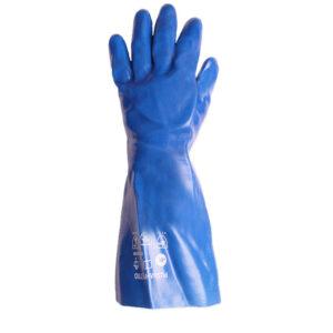 دستکش ضد حلال پوشا (بلند-آبی)