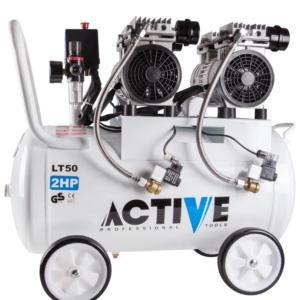 کمپرسور باد 50 لیتر بی صدا اکتیو مدل AC-1350-SN