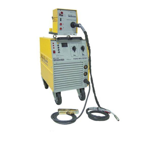 دستگاه جوش اینورتر PARS MIG SC603 گام الکتریک