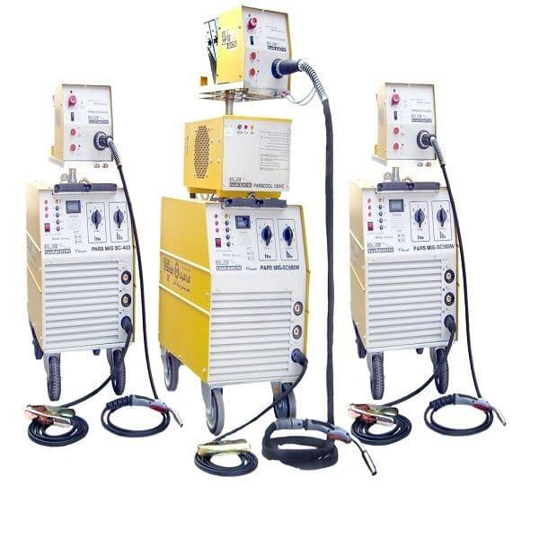 دستگاه جوش اینورتر PARS MIG SC503 گام الکتریک